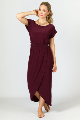 Stevie Maxi Dress - Mulberry