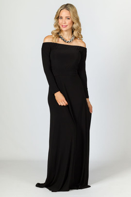 Mila Maxi Dress - Black