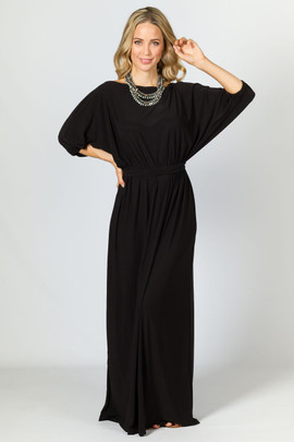 Chloe Maxi Dress - Black