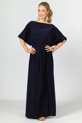 Chloe Maxi Dress - Navy