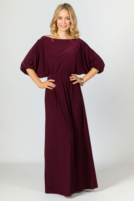 Chloe Maxi Dress - Mulberry