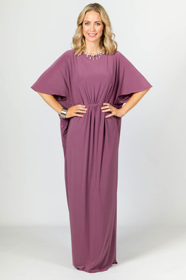 Brooklyn Maxi Dress - Eggplant