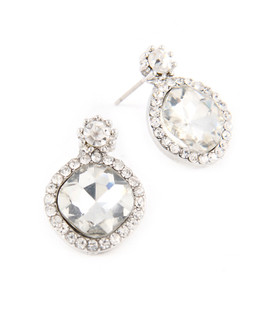 Petite Silver Drop Earrings