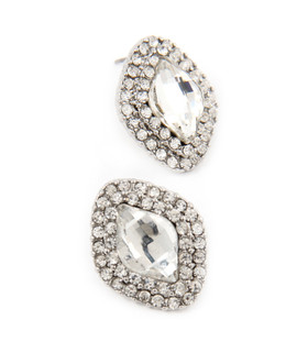 Sliver Diamond Earrings