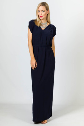 Rebecca Maxi Dress - Navy