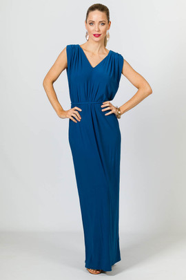 Rebecca Maxi Dress - Teal