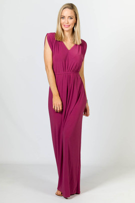 Rebecca Maxi Dress - Blush