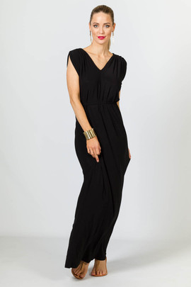 Rebecca Maxi Dress - Black