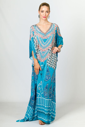 Angelique Embellished Kaftan - Long