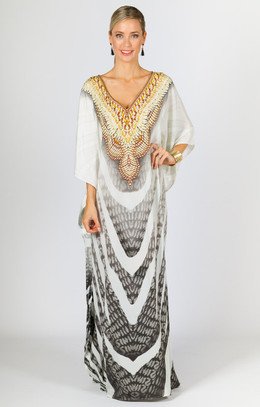 Veda Embellished Kaftan - Long