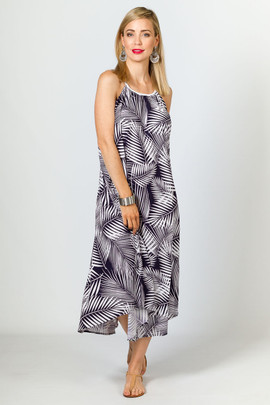 Aruba Maxi Dress - Navy