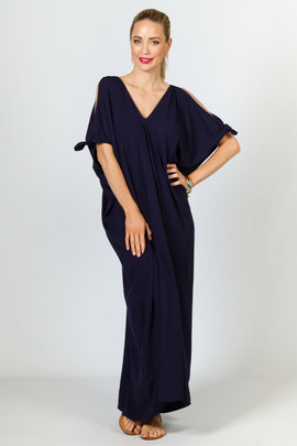 Ivy Maxi Dress - Navy
