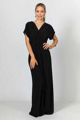 Sophia Maxi Dress - Black