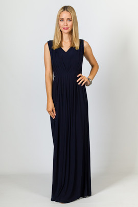 Paris Maxi Dress - Navy