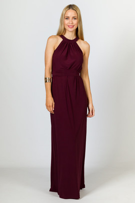 Milly Maxi Dress - Mulberry