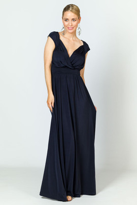 Mackenzie Luxe Maxi Dress - Navy