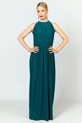 Tallulah Maxi Dress - Emerald