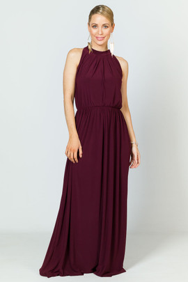 Tallulah Maxi Dress - Mulberry