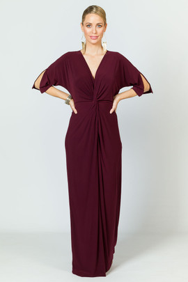 Paloma Maxi Dress - Mulberry