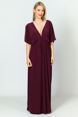 Callie Maxi Dress - Mulberry