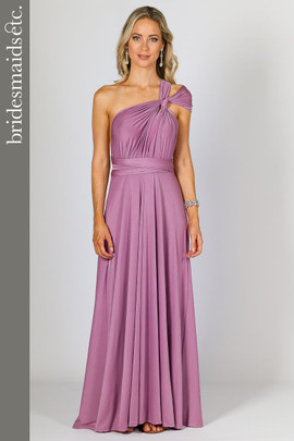 Bridesmaids Etc. Multi Way Wrap Maxi - Blush