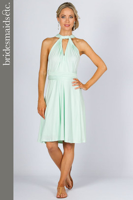 Bridesmaids Etc. Multi Way Wrap Midi - Mint