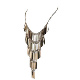 Gold Matchstick Necklace
