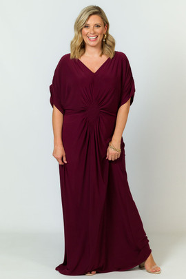 Elsa Maxi Dress - Mulberry