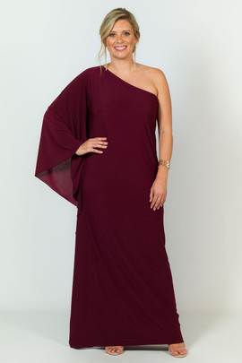 Amelia Maxi Dress - Mulberry