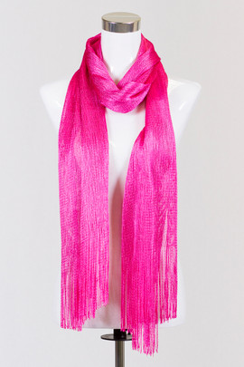 Party Hot Pink Scarf