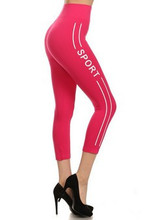 FUSCIA SPORTS LEGGINGS