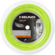 Head Reflex Squash Racquet String 110m Reel 1.20mm - Neon Yellow