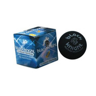 Black Knight Tru-Bounce Single Yellow Dot Squash Ball - Single