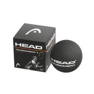 Head Tournament Single Yellow Dot Squash Balls - Single