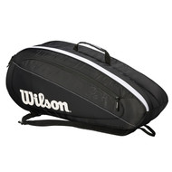 Wilson Federer Team 6 Racquet Bag - Black