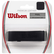Wilson Premium Leather Replacement Grip - Black