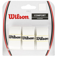 Wilson Pro Overgrip 3 Pack - White