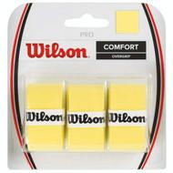 Wilson Pro Overgrip 3 Pack - Yellow