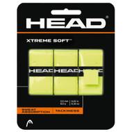 Head XtremeSoft Overgrip 3 Pack - Yellow