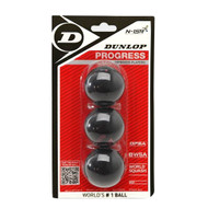 Dunlop Progress Squash Balls - 3 Pack