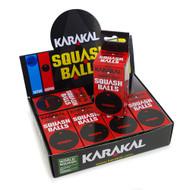 Karakal Impro Red Dot Squash Balls - 1 Dozen