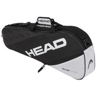Head Elite Pro 3 Racquet Bag - Black & White