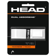 Head Dual Absorbing Replacement Grip - White
