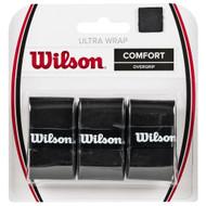 Wilson Ultra Wrap Overgrip 3 Pack - Black