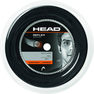 Head Reflex Squash Racquet String 110m Reel 1.20mm - Black