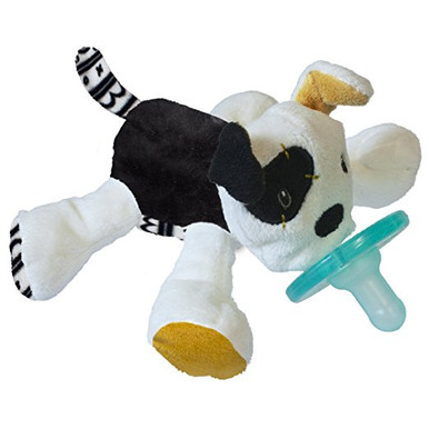Wubbanub Tic Tac Toby Soft Toy and Pacifier