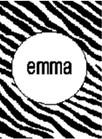 Zebra Stripe Personalized Butterscotch Stroller Blankee
