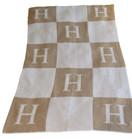 Initial Blocks Personalized Butterscotch Stroller Blankee