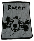 Race Car Personalized Butterscotch Blankee