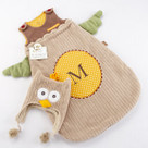 """My Little Night Owl"" Snuggle Sack and Cap Baby Gift Set"
